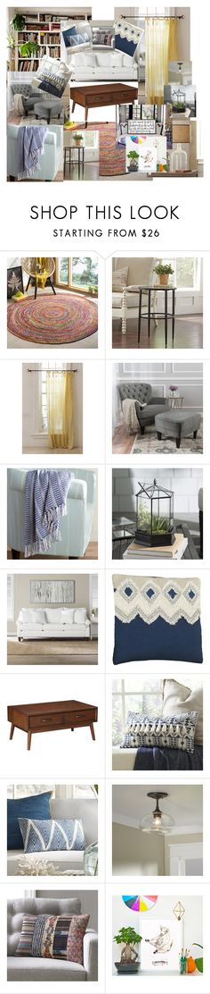 """""""living room"""" by rebecca-noland on Polyvore featuring interior, interiors, interior design, home, home decor, interior decorating, Urban Outfitters and living room"""