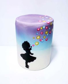 bubble girl cake - Cake by fantasticake by mihyun