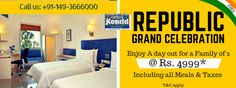 Soak in the spirit of the #RepublicDay with our grand offerings, uniquely crafted to elevate your experience.  This weekend, unwind at Hometel Bhiwadi ENjoy a day our for Family of 2 at Rs. 4999 includuning all meals & taxes.  Kids below 5 yrs complimentary & kids till the age of 12 at Rs 1500 AI. Grab Your Weekend Vacation Now..  Call us for reservation: +91-149-3666000 Visit us: http://bit.ly/OptusHometelBhiwadi
