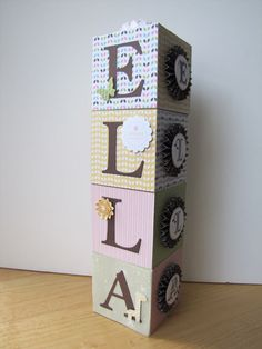 Custom Personalized Blocks Baby Theme by TreasuredWallArt on Etsy,  12.00  Wipes Box, Baby Fat 7205d192c90