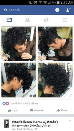 Awesome Quick Weave Short Curly Hairstyles 8