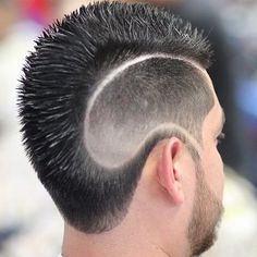 20 sumptuous shaved sides hairstyles and haircuts for men. Ideas for shaved sides for men hairstyle. Mens Medium Length Hairstyles, Side Hairstyles, Undercut Hairstyles, Undercut Pompadour, Latest Haircuts, Cool Haircuts, Haircuts For Men, Shaved Hair Designs, Haircut Designs
