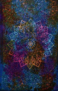 Twin Tapestry Mandala Boho Bohemian Elephant Bedspread Throw - GoGetGlam  - 4