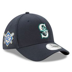 cf042ab2fd2 Men s New Era Navy Seattle Mariners 2018 Jackie Robinson Day 39THIRTY Flex  Hat