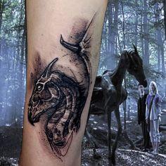 Nerdy Tattoos, Spooky Tattoos, Life Tattoos, Body Art Tattoos, Sleeve Tattoos, Cat Tattoos, Ankle Tattoos, Hp Tattoo, Back Tattoo