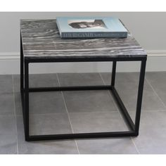 Grey Marble and Iron Coffee Table by House Doctor DK