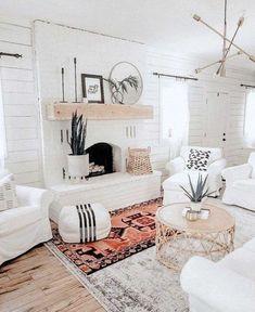 Boho Living Room, Bohemian Living, Bohemian Decor, Living Room Decor, Bohemian Furniture, Bohemian Design, Vintage Bohemian, Coastal Living, Living Rooms