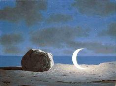 Intercepted by Gravitation   dappledwithshadow:   René Magritte