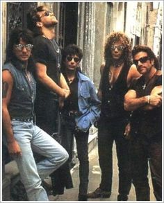 Bon Jovi. My attraction level to Jon's facial hair right now is out the roof.