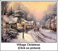 Thomas Kinkade was from Placerville - many of his paintings were inspired from the area.