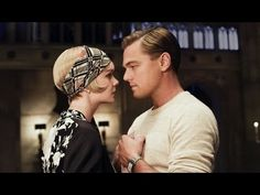 "Lana Del Rey ""Young and Beautiful"" Gatsby video. Woah if this scene in the movie doesn't make you cry, will anything??"