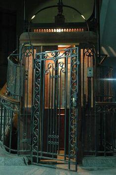 Interior design | decoration | home decor | inspiration | 150 Year Old Elevator