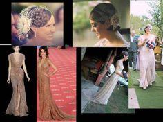 A noiva - Bride´s dress & hair. Minhas inspirações.. e como foi!!! Amei!