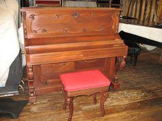 Upright Pleyel piano