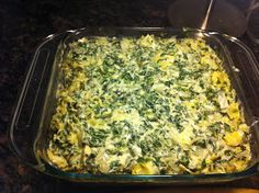 Reckless Abandon: Superbowl Series - Spinach Artichoke Dip