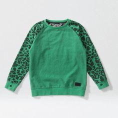 Hunter Sweater green | Munsterkids