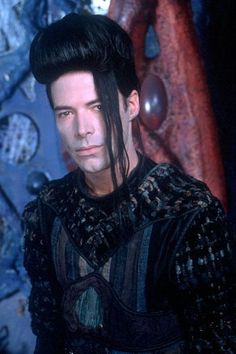 """Kai is yet another troubled hero from Lexx.  He is an undead warrior kept alive by a substance called protoblood.  He doesn't have a full range of emotions, but he is always selfless and brave and the only crew member who probably actually cares about all the others.  His catch phrase is """"The dead don't...[insert line here]."""""""