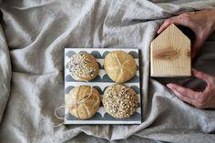 Chlebové pivné žemličky