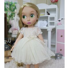 "Disney Baby doll clothes dress clothing Animator's collection Princess 16"" inch #HappyJinny"