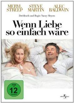 Wenn Liebe so einfach wäre  2009 USA      Jetzt bei Amazon Kaufen Jetzt als Blu-ray oder DVD bei Amazon.de bestellen  IMDB Rating 6,6 (43.860)  Darsteller: Meryl Streep, Steve Martin, Alec Baldwin, John Krasinski, Lake Bell,  Genre: Comedy, Romance,  FSK: 12