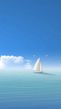 Sail Boat - Wallpaper for iPhone Boat Wallpaper, Nature Wallpaper, Wallpaper Backgrounds, Mobile Wallpaper, Xperia Wallpaper, Trendy Wallpaper, Desktop Wallpapers, Nature Pictures, Cool Pictures
