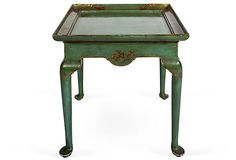 Queen Anne Chinoiserie Side Table