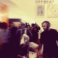@offbeat_bcn dio para mucho y fue un placer amenizar La tarde y el evento en breve mas y mejor   #justswingdj #onfire🔥 #seratodj #vestax #nudisco #disco #electronics #djset #sounds