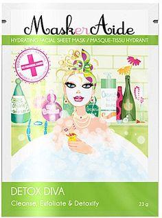 Pin for Later: 30 Produits Détox Pour Prendre Soin de Votre Peau Après les Fêtes  Maskeraide Detox Diva Masque Hydratant (6€)