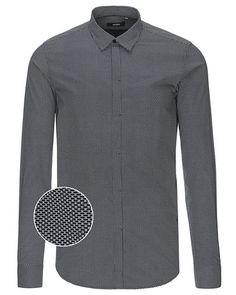 De fedeste MUNDO langærmet skjorte MUNDO Skjorter til Herrer i dejlige materialer