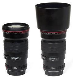 Canon EF 200mm f/2.8 L USM II - Telephoto prime lens