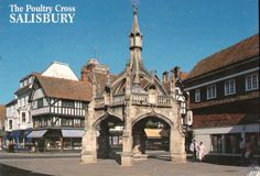 The Poultry Cross, Salisbury was the area dedicated to selling poultry at the weekly markets that have happened here since 1227.