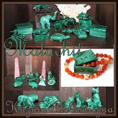 Kuźnia Alchemiczna: Malachitowe figurki