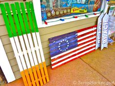 Repurpose Window Blinds Plant Labels Basket Storage And