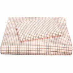 Graph Paper Percale Kids Sheets  Bedding Set