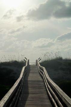 Crescent Beach catwalk, St. Augustine, FL