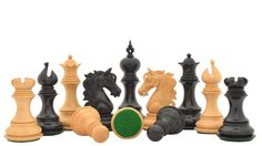We are pleased to announce the Admiral Series II Staunton chess pieces in ebony & box wood -> http://www.chessbazaar.com/the-admiral-series-ii-staunton-chess-pieces-in-ebony-wood-box-wood-4-5-king.html