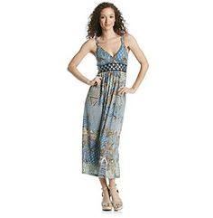 Product: Studio West Crochet Detail Solid Maxi Dress