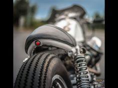 1000 calif 3 with heavy modifications. Moto Guzzi, Guzzi Bobber, Scrambler, Cafe Racer Magazine, Brat Cafe, Cafe Racer Girl, Tail Light, Cool Bikes, Motorbikes