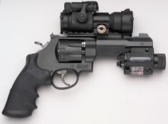 Smith and Wesson M R8 - 8 shot 357mag revolver. A good looking gun. One of the ZSA competitive shooters has one of these.