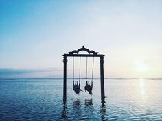 the Ombak Sunset resort on Gili Trawagan island reaches peak breathtaking-ness at sunset-time.