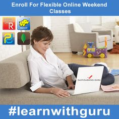 Looking For Flexible Online Weekend Classes?  Easylearning.guru Provides The Same With Oodles Of Facilities.  Have a Look Over Various Courses!