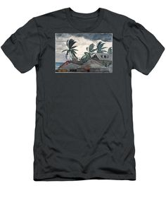 Hurricane In Bahamas - Men's T-Shirt (Athletic Fit)