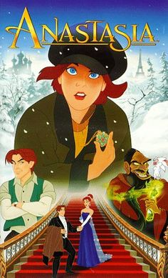 NOT A DISNEY FILM! Anastasia (Don Bluth & Gary Goldman, *** An average Disney film, not a patch on The Little Mermaid or The Beauty and the Beast (my favourites). Walt Disney, Disney Films, Disney Cinema, Classic Disney Movies, Disney Magic, Cartoon Movies, Hd Movies, Movies Online, Movies And Tv Shows