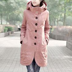 VEUNION » Winter Women Wadded Jacket Coat 2016 Women's Jackets Long Casual Cotton Padded Coat Warm Parkas For Women Plus Size HY223