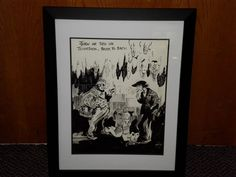 We have an original inking from the artist Clare Victor Dwiggins! This is from one of the books from August Derleth. Its a very cool piece!