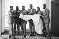 Groomsmen  Habesha bridal party