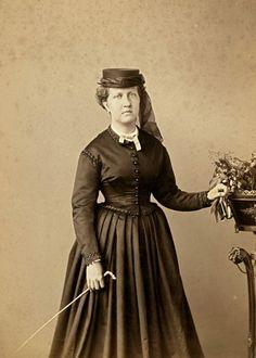 Princesa Isabel, Rio de Janeiro, 1870 (foto: Joaquim Insley Pacheco)