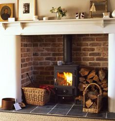 Perfect fireplace from country living magazine
