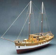 Hard to Find Model Kits | Mantua Trotamares. Sailing Motor Yacht 1:43 (753)