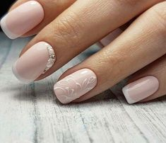 45 Cute French Nail Art Designs Ideas To Wear Now French Nails Gel Nails French, French Nail Art, French Nail Designs, Beautiful Nail Designs, Nail Art Designs, Nails Design, Bride Nails, Wedding Nails, Fun Nails